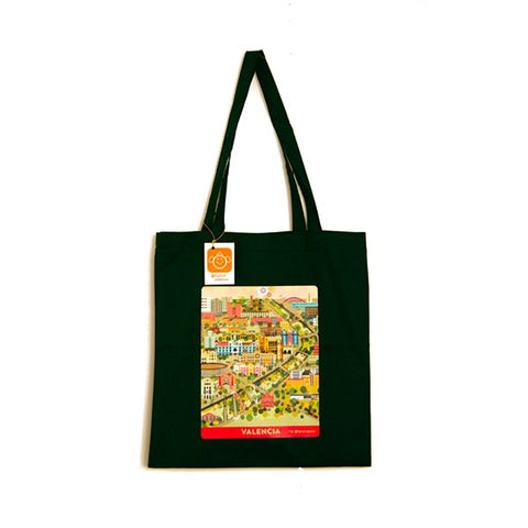 Bolsa Valencia centro histórico tote bag souvenir recuerdo made in Spain Atypical