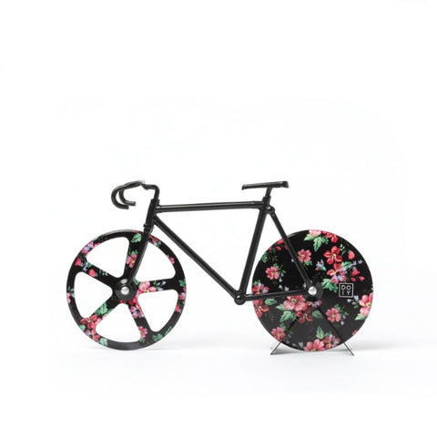 fixie bici bicycle bicicleta bike corta pizza coratapizzas flores DOIY design