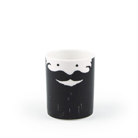 maceta barbudo barba beard bearded cup mug pot ustudio