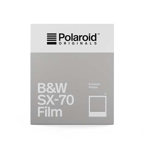 Polaroid originals cartucho papel SX70 1000 blanco y negro B&W cámara instantánea fotografía fotos analógica color film