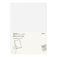 Load image into Gallery viewer, Funda transparente para cuaderno MD A5 de Midori