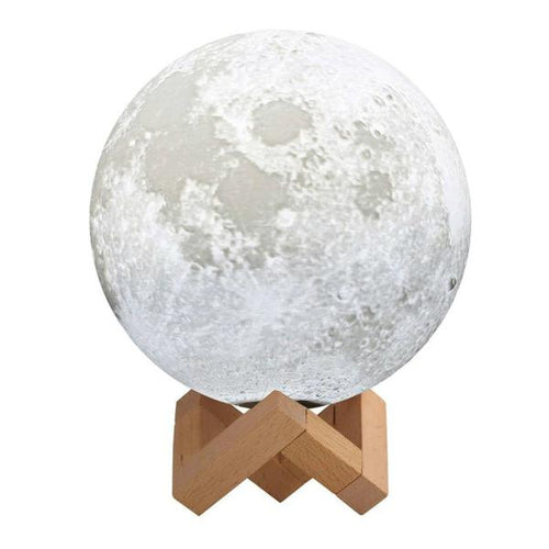 lámpara led luna ambiente quitamiedos regalo moon
