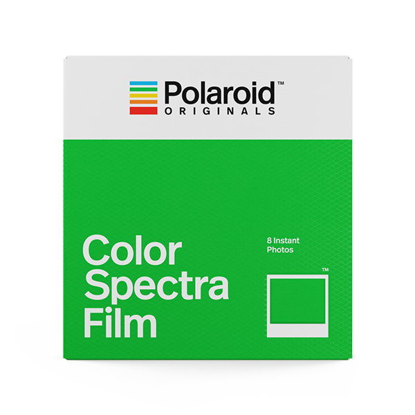 Polaroid originals cartucho papel spectra image cámara instantánea color fotografía fotos analógica color film
