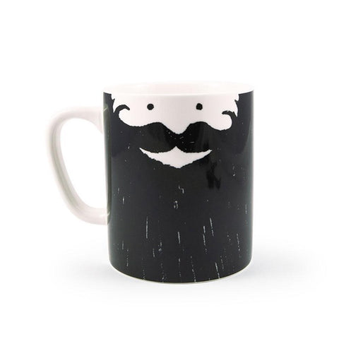 maceta barbudo barba beard bearded mug ustudio