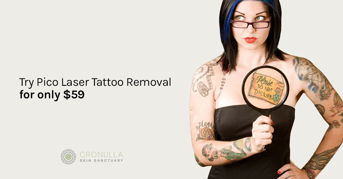 $59 Pico Laser Tattoo Removal Trial