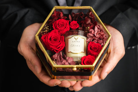 Love of Aroma: Valentine Message Candle