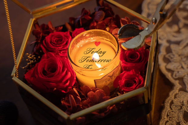 Love of Aroma: Valentine Message Candle Workshop