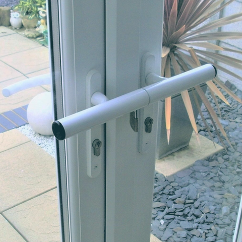 French Door Bar Lock - FIGHT BACK HOME SECURITY