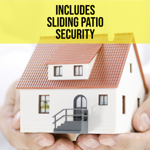 Full Home Protection Pack with Sliding Patio Security - jptestsolutions
