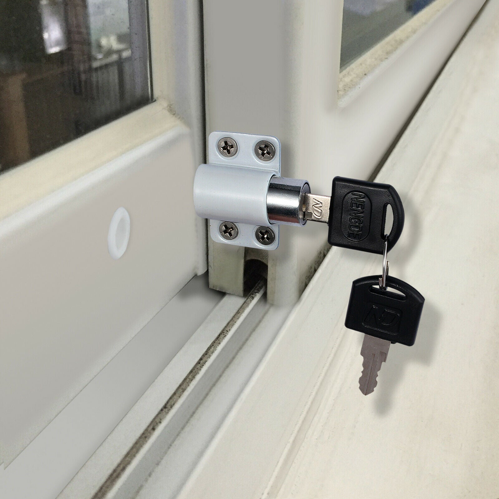 Restrictor for Sliding Doors, Patios and Windows - FIGHT BACK HOME SECURITY