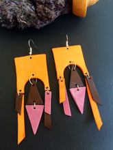 Load image into Gallery viewer, Izel leather earrings