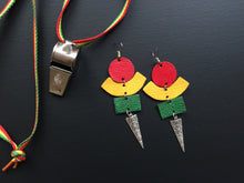 Load image into Gallery viewer, Yolyo leather earrings