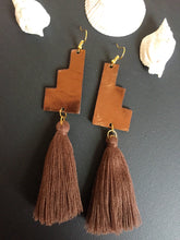 Load image into Gallery viewer, Leather earrings: Teolt