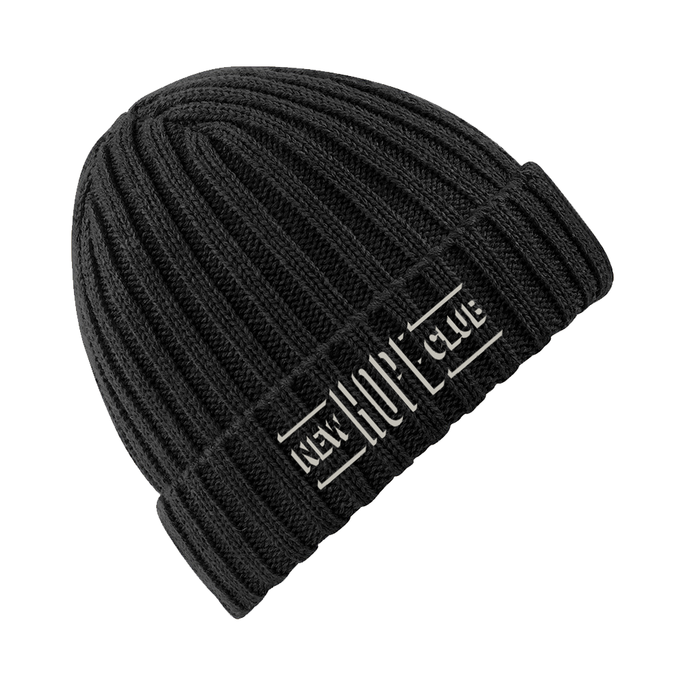 Shadow Logo Embroidered Beanie