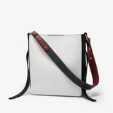 Colourblock PU leather 2-in-1 crossbody bag