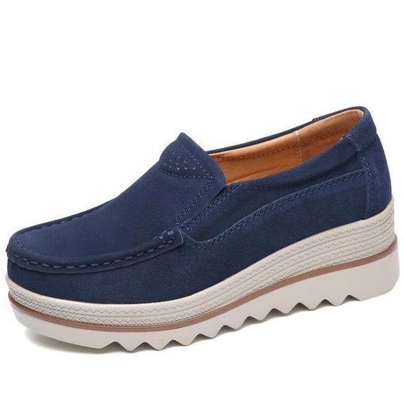 Comfy Slip-On Platform Shoes