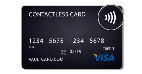VAULTSKIN RFID protection for credit cards and contactless payment