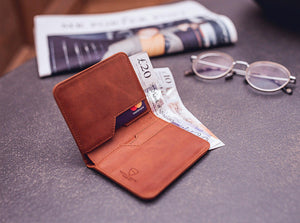 High Quality Materials City leather RFID blocking wallet