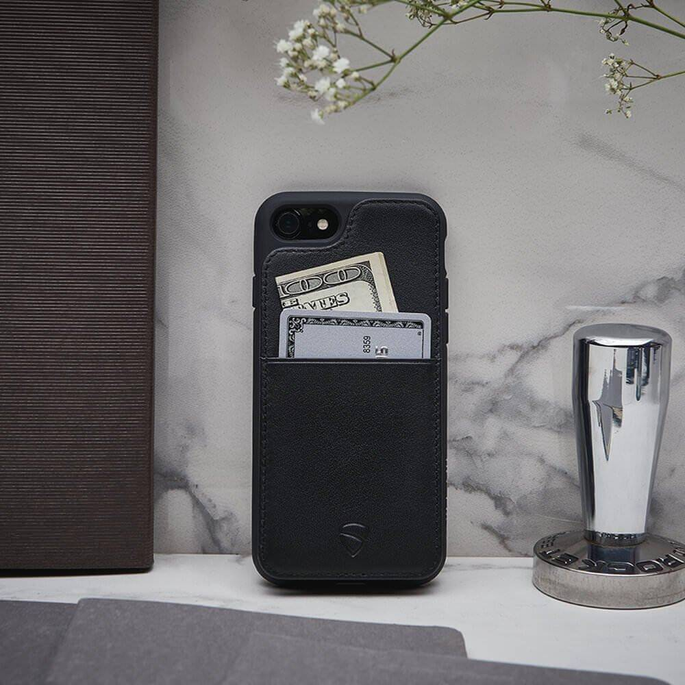 Designer wallet case for your iPhone X / Xs - ETON Armour by Vaultskin London