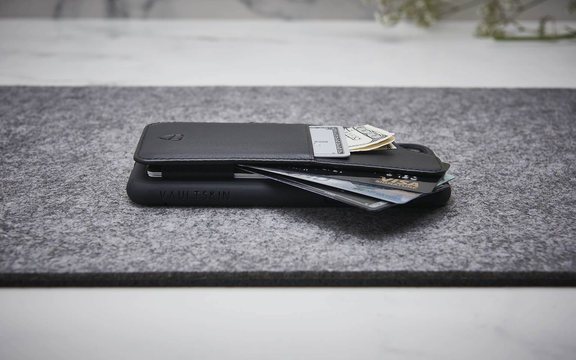 iPhone case with credit card holder - ETON Armour by Vaultskin