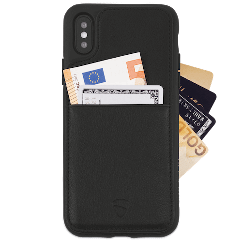 iPhone case with integrated card wallet - ETON Armour