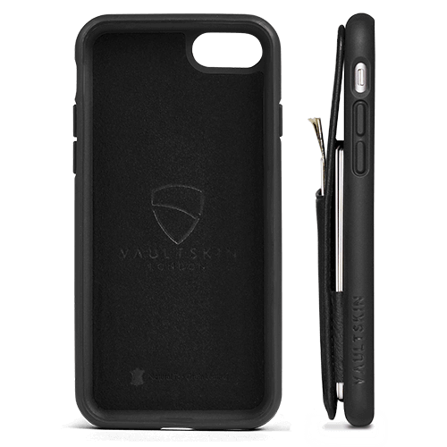 Bumper case for iPhone 7 / 8 with wallet - ETON Armour by Vaultskin London