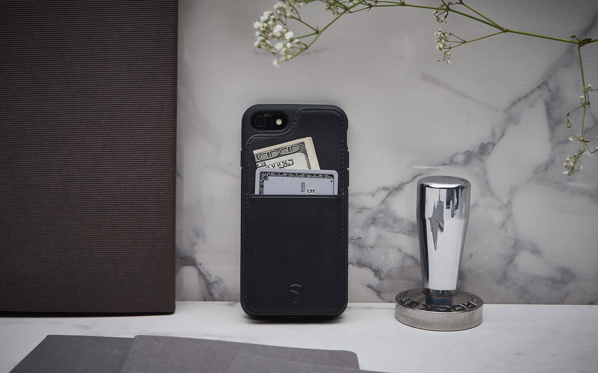 iPhone case with card holder - ETON Armour by Vaultskin London