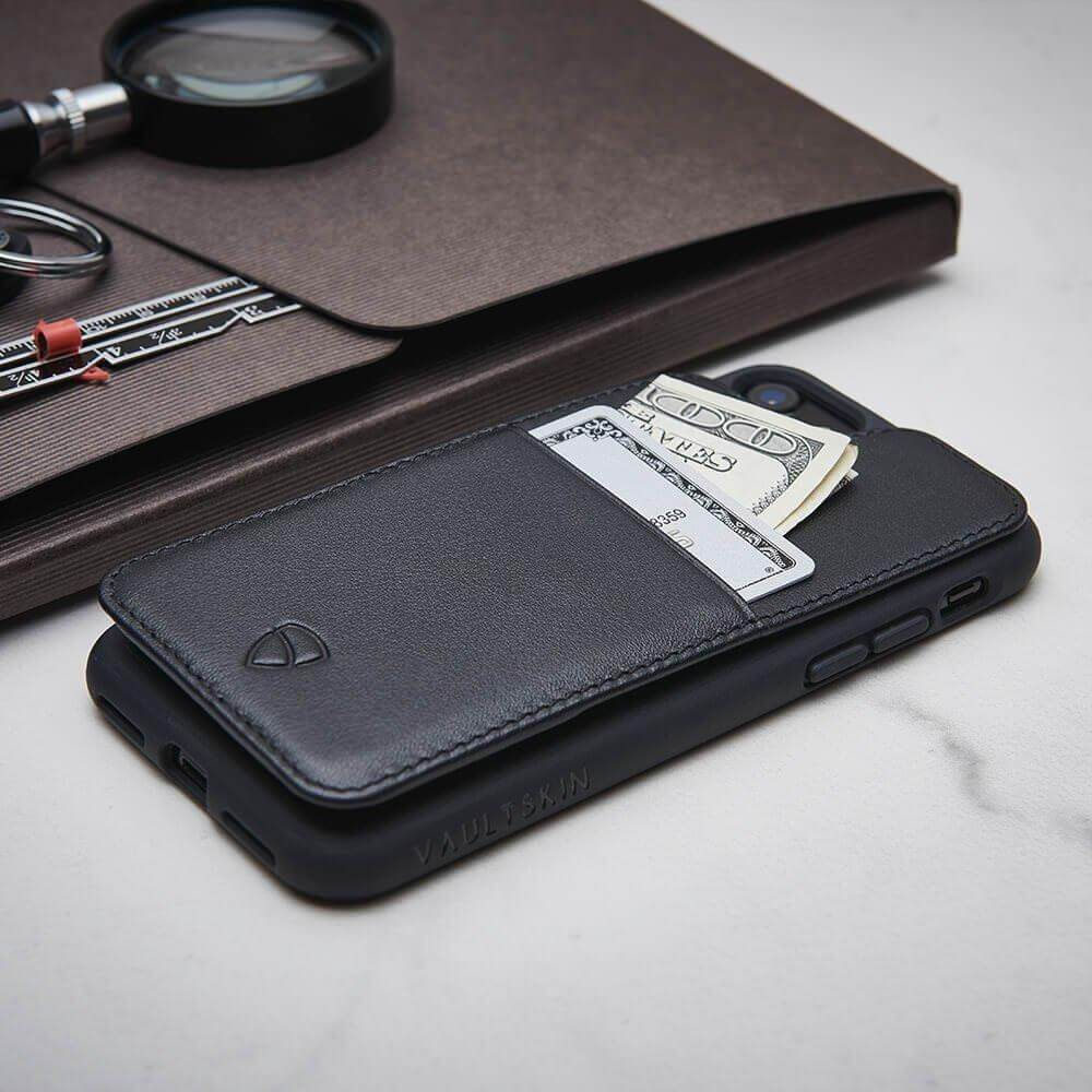 Luxury iPhone case with a pocket for cards - ETON Armour by Vaultskin London