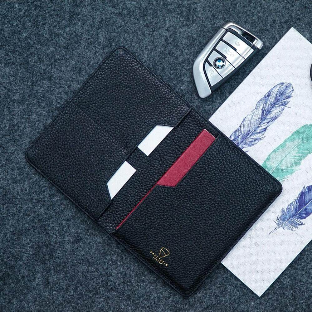 RFID secure travel wallet with card compartments