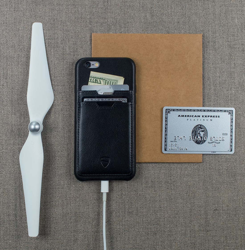Designer wallet case for your iPhone 6 / 6s - SOHO TWO by Vaultskin London