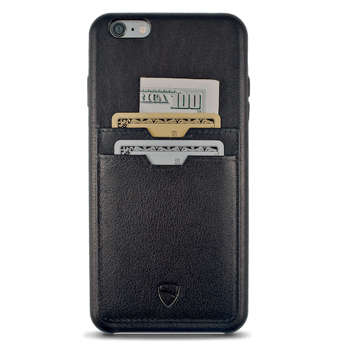 iPhone case with integrated card wallet - SOHO TWO by vaultskin London