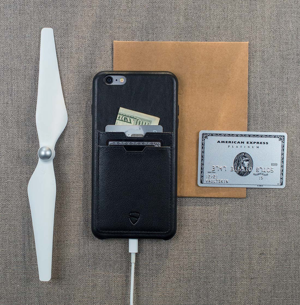Designer wallet case for your iPhone 6 / 6s Plus - SOHO TWO by Vaultskin London
