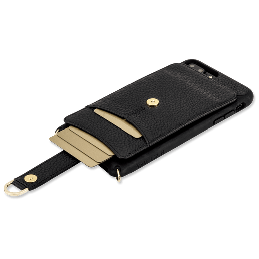 Luxury wallet case with a leather strap for women - VICTORIA by Vaultskin London