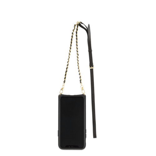 Minimalist wallet case with a chain strap for women - VICTORIA by Vaultskin London
