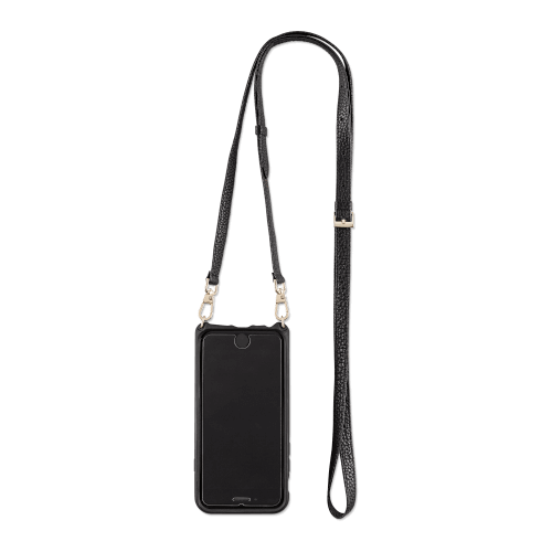 Minimalist wallet case with a leather strap for women - VICTORIA by Vaultskin London