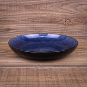 Birch Rustic Stoneware Collection in Ocean Blue