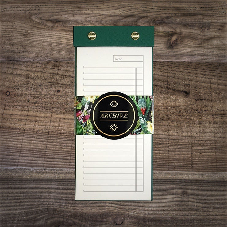 Botanical Print List Pad