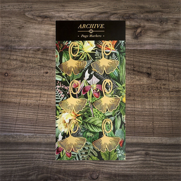 Botanical Print Page Markers