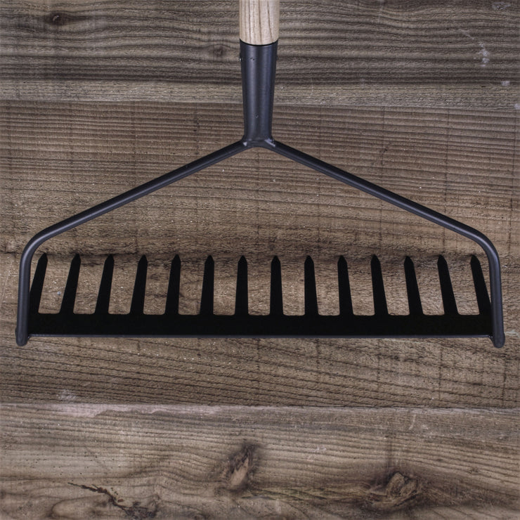 Long Handled Soil Rake