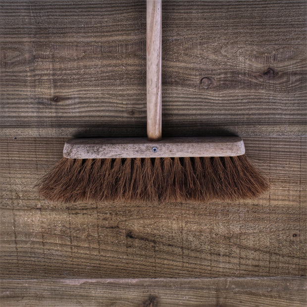"12"" Plain Coco Broom"