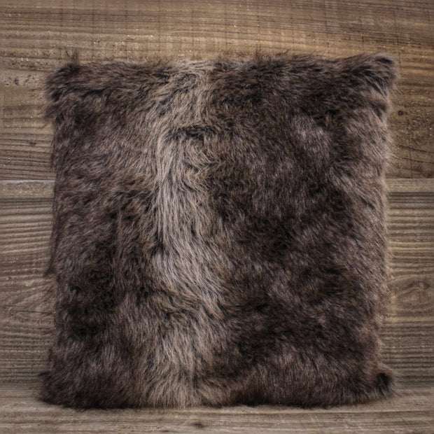 Faux Reindeer Cushion