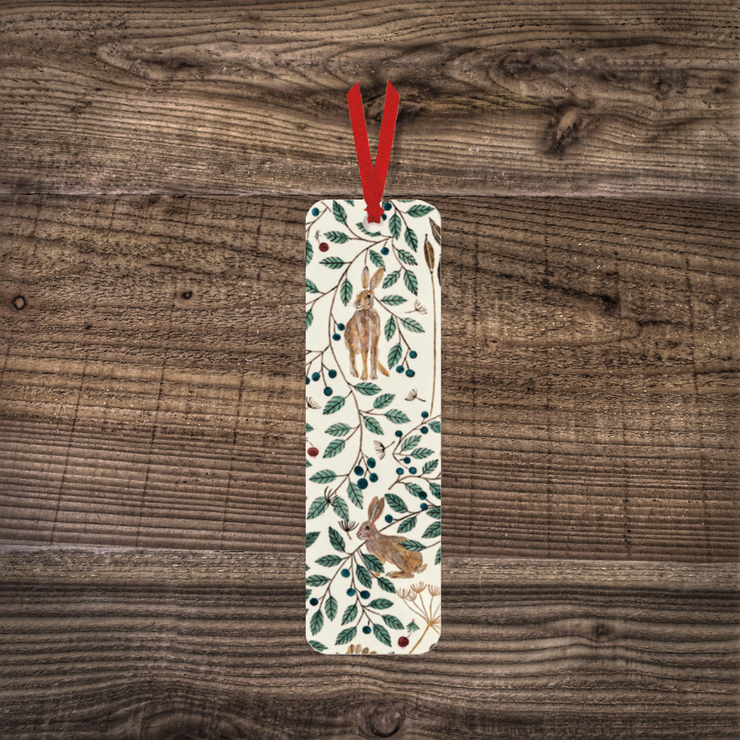 Hares & Berries Bookmark