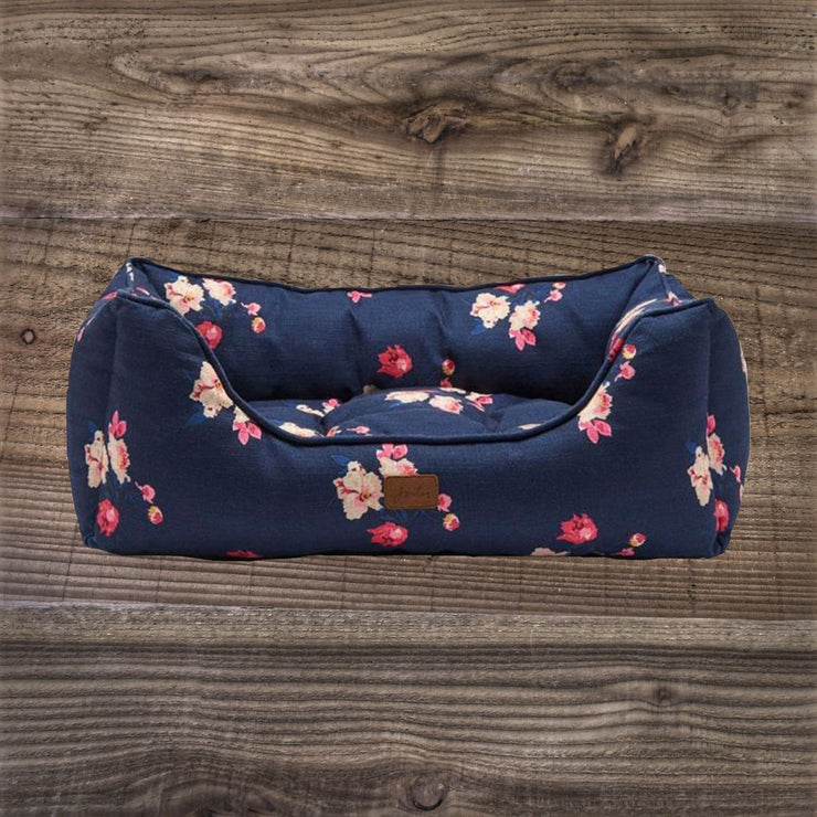 Joules Floral Print Dog Bed