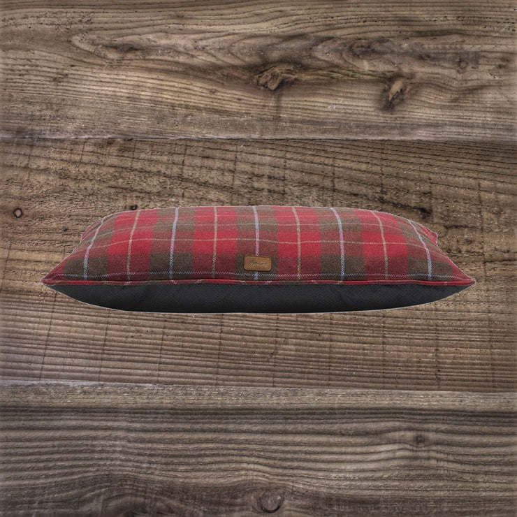 Joules Red Country Tweed Mattress Dog Bed