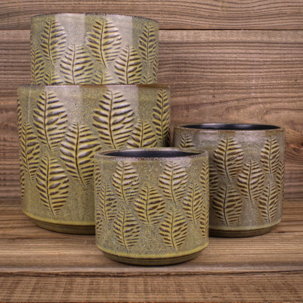 Nadin Fern Pot Green