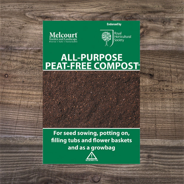 Melcourt All Purpose Peat-Free Compost 50L