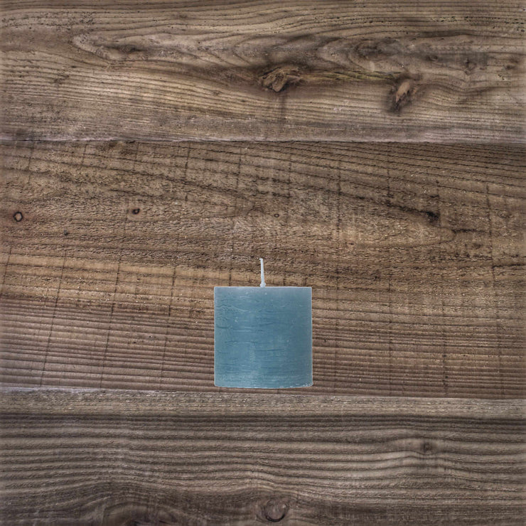 Rustic Candle Winterblue
