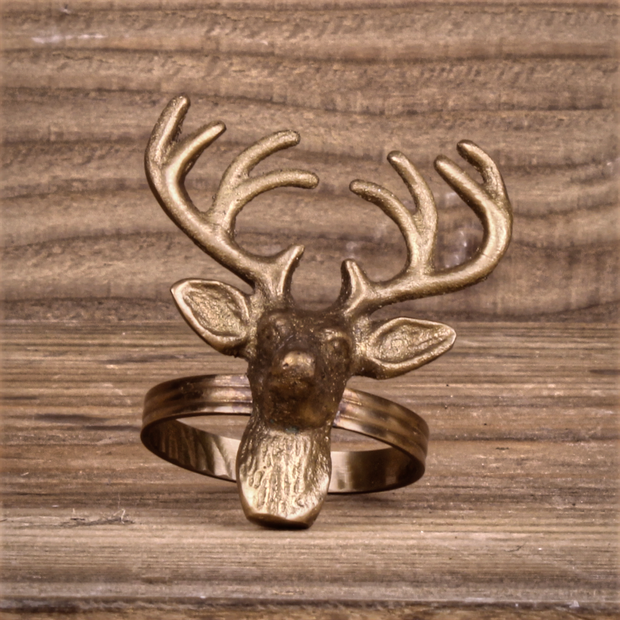 Stags Head Napkin Ring