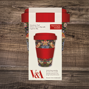 Strawberry Thief Bamboo Travel Mug