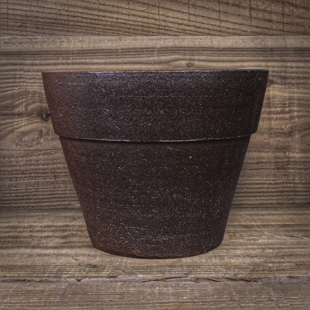 Thai Salt Glaze Tapered Pot